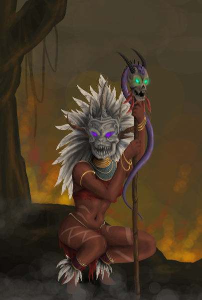 Kiara 'Benighted' Tzul Witch_doctor_by_basil_lair-d38ghn0