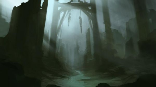Gallows concept art