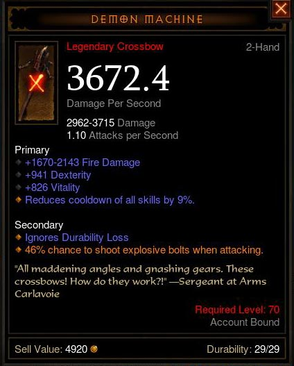 best diablo 3 items for demon hunter