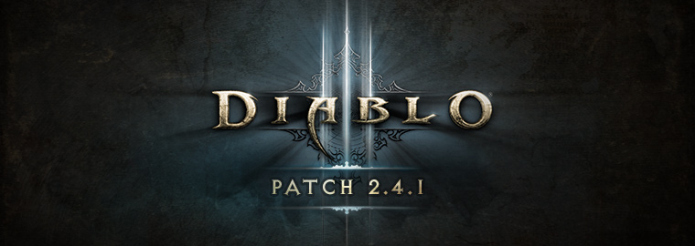 Diablo 3 patch 2.4.1