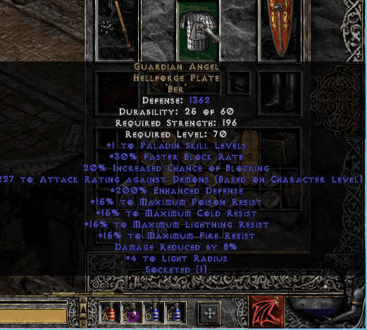Diablo  Crafted Attack Speed Gloves