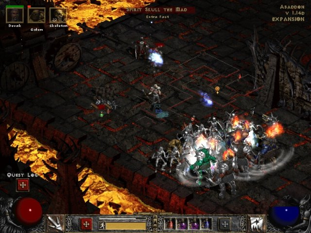 how to get to the monastery barracks diablo ii