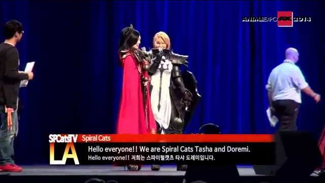 [SpcatsTV in LA] Spiral Cats invitation participate as a special guest to AnimeExpo2014 (1)