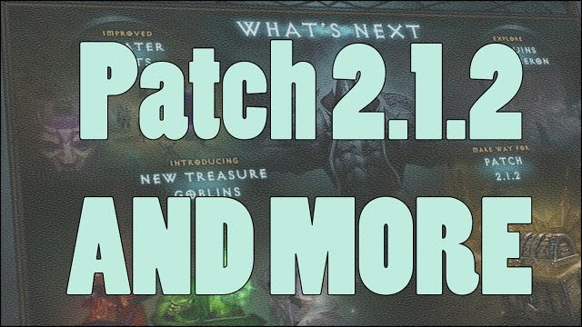 Diablo 3: Blizzcon 2014 Day 1 - Patch 2.1.2