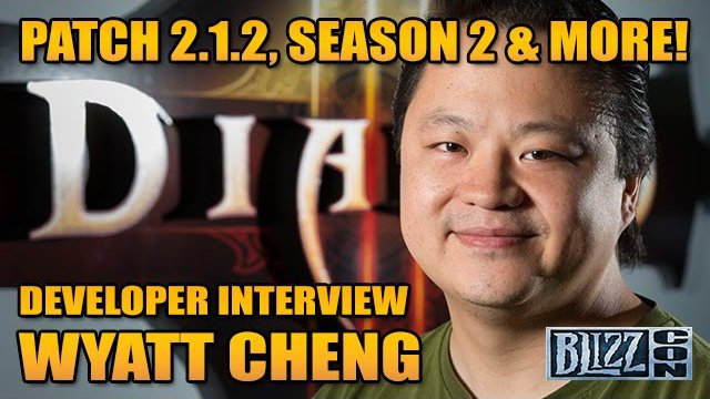 Wyatt Cheng Interview - Reaper of Menus, Season 2 & D3 Patch 2.1.2