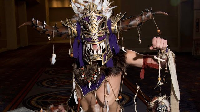 WITCH DOCTOR! DIABLO III Cosplay by Crimsyn Cosplay