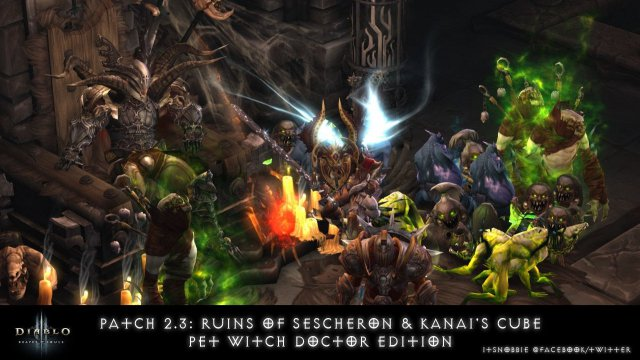Diablo 3 RoS 2.3: Ruins of Sescheron & Kanai's Cube - Pet Witch Doctor Edition