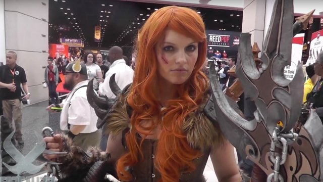 DIABLO III BARBARIAN Cosplay by Kyra Wulfgar at C2E2 2016