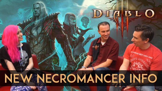 New Necromancer Details, Challenge Rifts & New Zones | Diablo Dev Interview at PAX East 2017