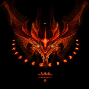 Fiery Runes - Diablo: Reflections of Hellfire