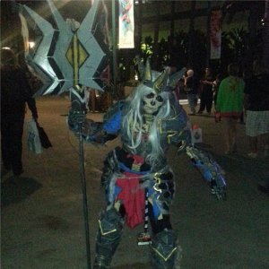 Skeleton King Cosplay