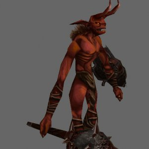 Fan Created 3-D model - Fallen Imp
