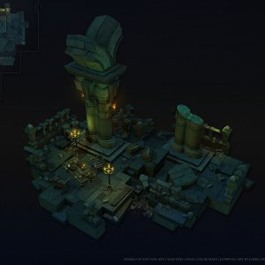 Fan Created D3 Act 1 Mini Environment Ver.2