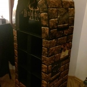 Diablo II Store Display Case