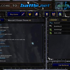 Warcraft 3 chat