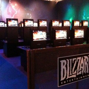 Blizzard's Booth