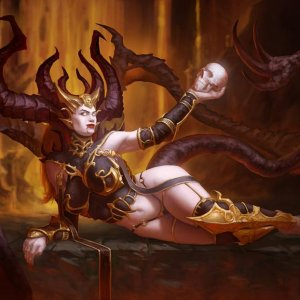 Lilith, the mother of the Nephalem