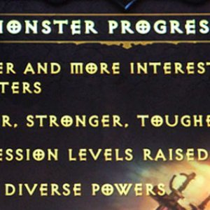 Monster Difficulty Progression