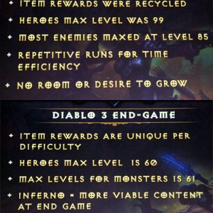 D2 vs. D3 End Game