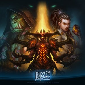 Blizzcon 2011 Poster