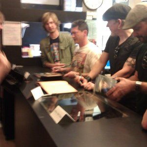 Book of Cain signing