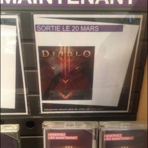 French retailer 20 March release
