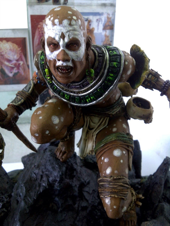 Diablo 3 Sculpture sculpture art witch doctor details - the diablo gallery