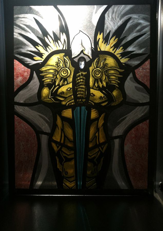 Stained-Glass Tyrael