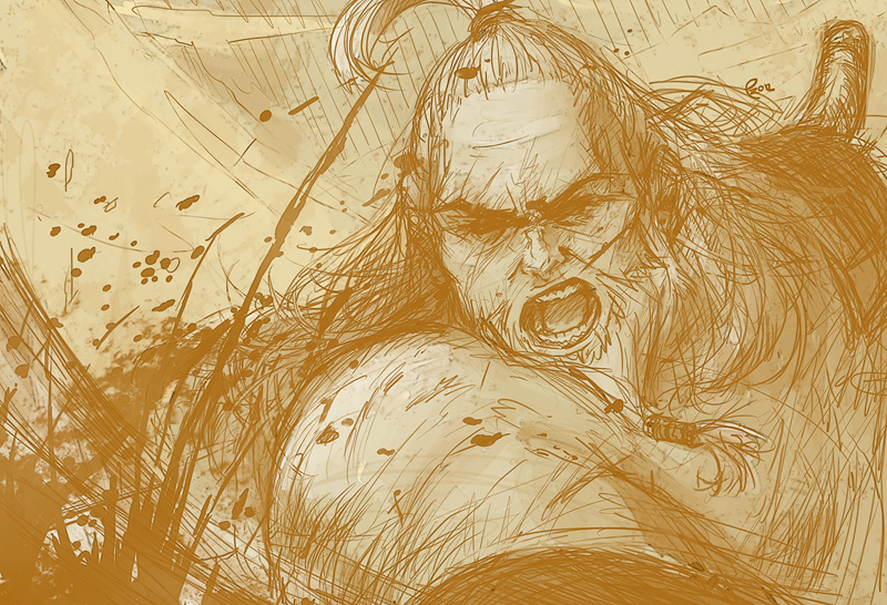 Speed Sketch Barbarian
