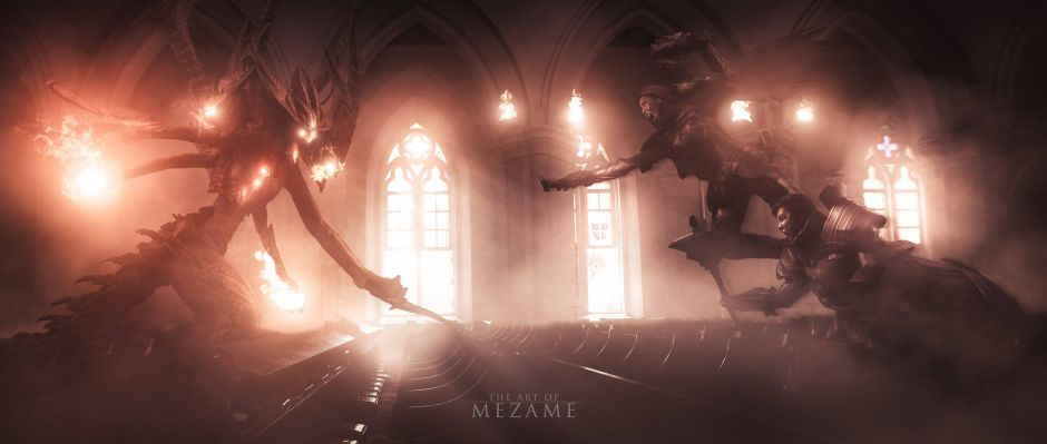 Diablo 3 Themed Pre-wedding Photography by The Art of Mezame