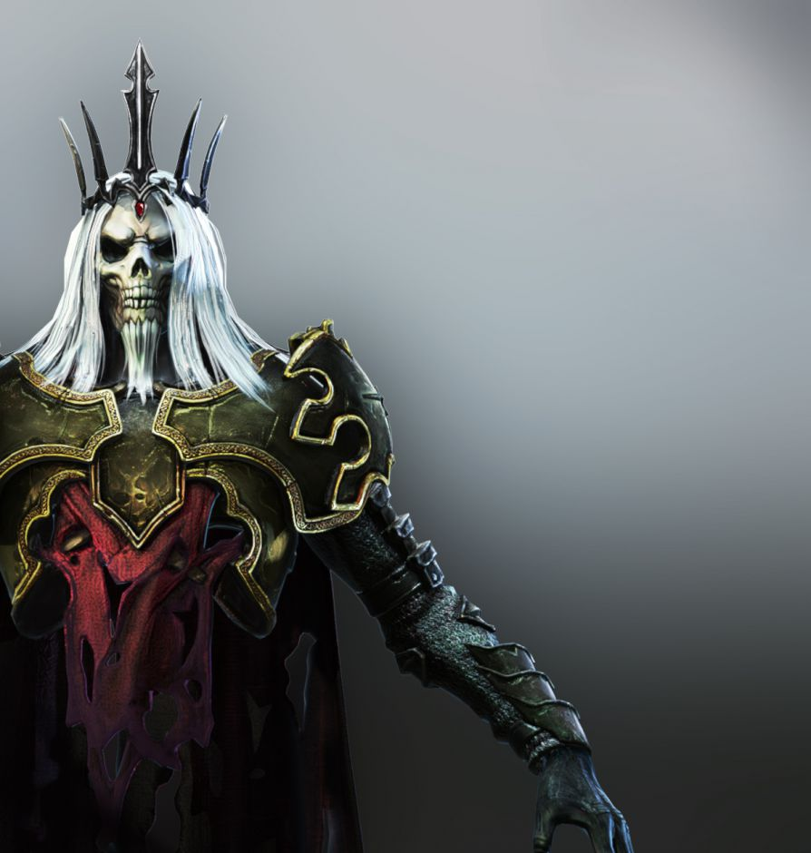 Skeleton King 3d Model