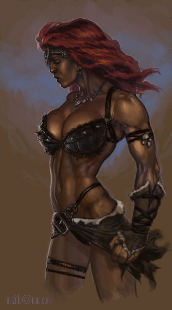 female barbarians sexy