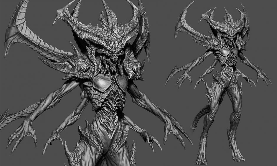 Diablo: The Prime Evil - Z-Brush