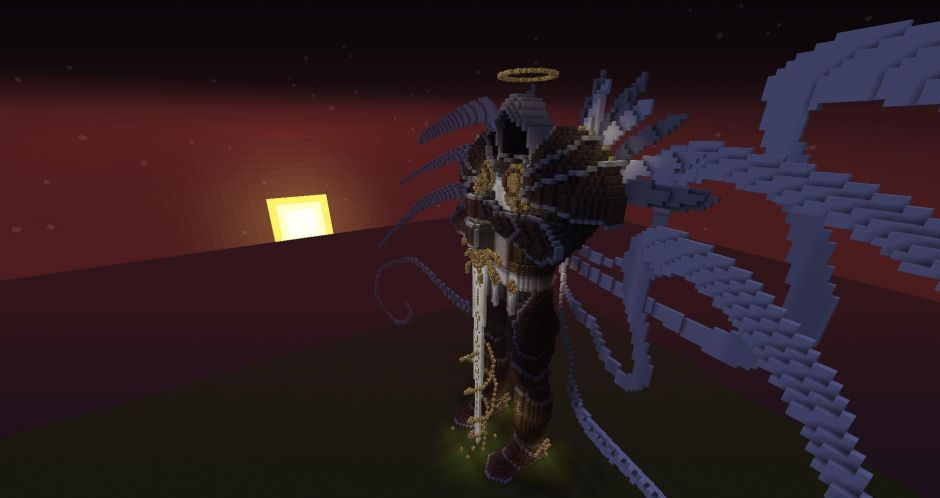 Tyrael Meets Minecraft