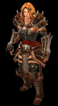 Female Barb Gear Set