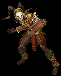 Witch Doctor Gear Set