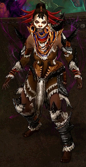 Female Witch Doctor Unmasked - Diabloii.Net