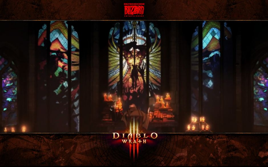 Diablo III: Wrath #1 Stain Glass