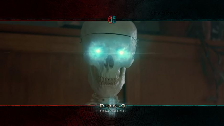 D3 Switch Commercial: Reanimated Skeleton