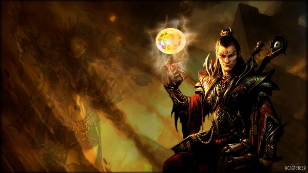 Pictures Of Diablo 3 Male Wizard Wallpaper