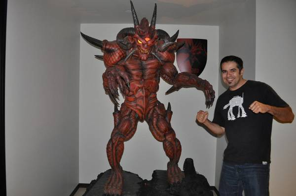 Diablo 3 Sculpture diablo statue - the diablo gallery