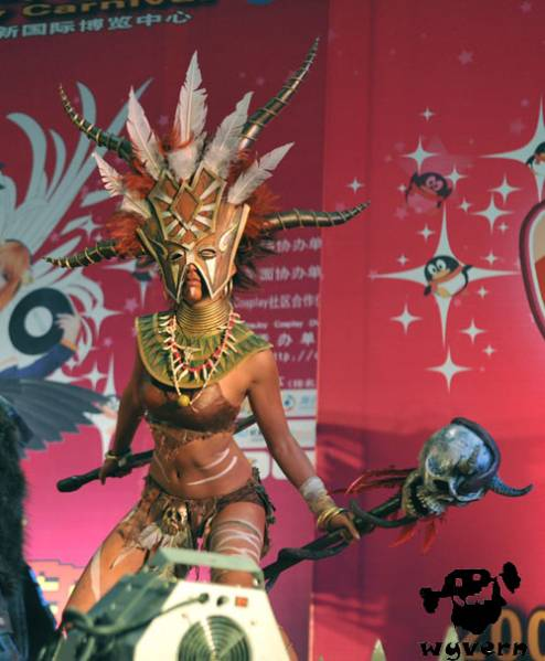 Female Witch Doctor costume | Diablo 2 and Diablo 3 Forums ...