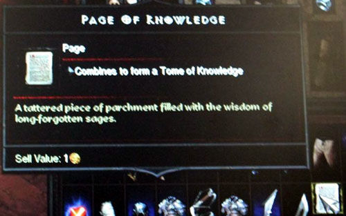 Page of Knowledge