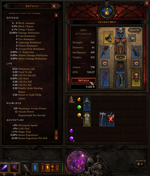 how to put archery on secondary diablo 3