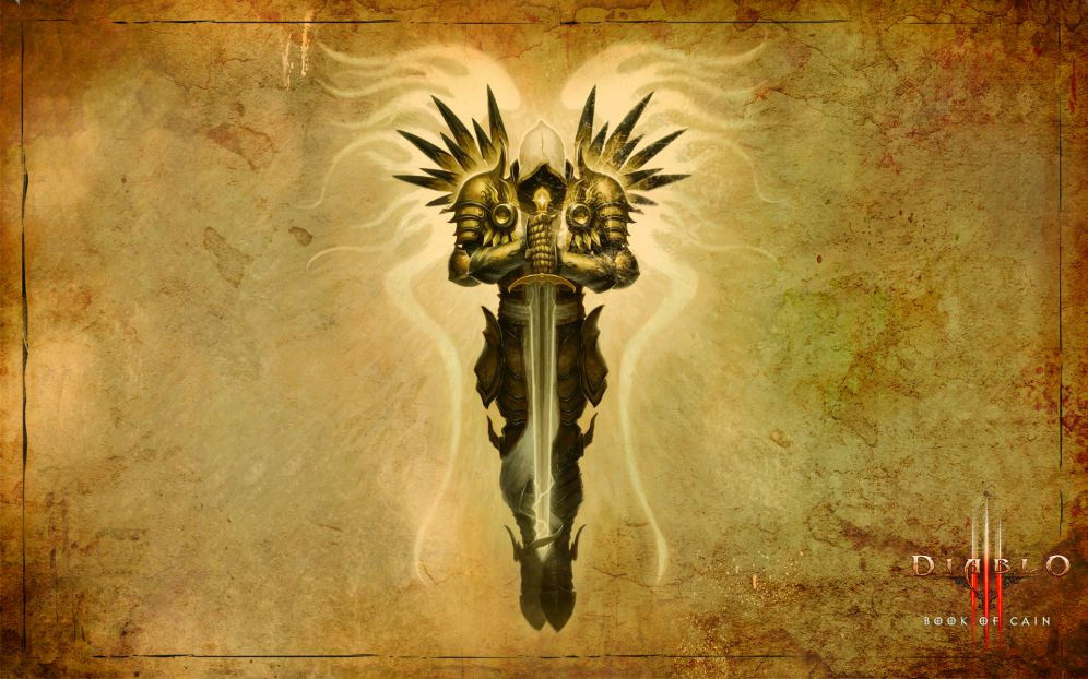 Book of Cain: Archangel Tyrael