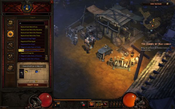 Crafting Interface
