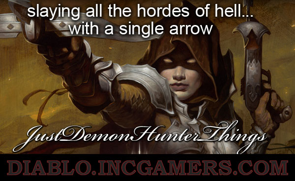 Just Demon Hunter Things