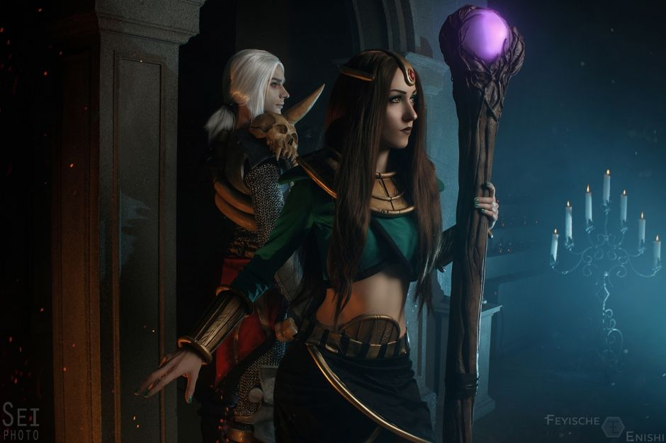 Necromancer and Sorceress