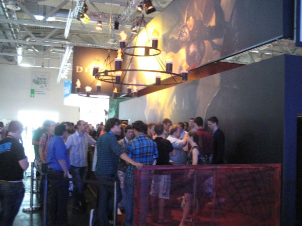 Diablo 3 booth shots