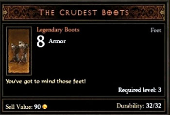 The Crudest Boots